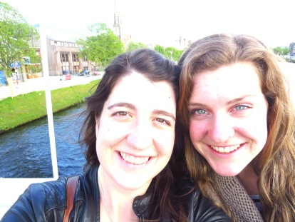 Sisters on the River Ness